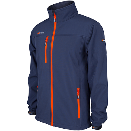 Grays Hockey Clothing Radius Soft Shell Dark Navy Mens Main
