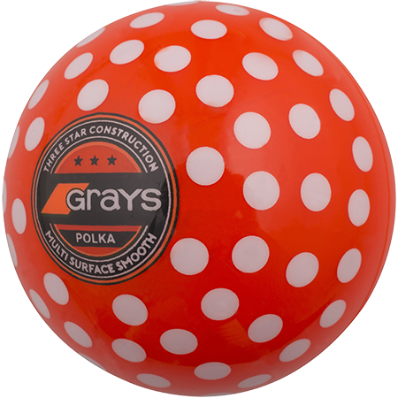 Grays Hockey Polka Orange_white