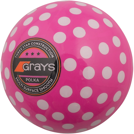 Grays Hockey Polka Pink_white