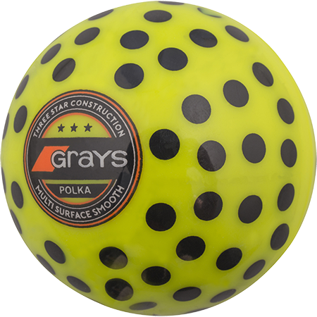 Grays Hockey Polka Yellow_black