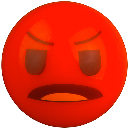 Grays Hockey Emoji Angry