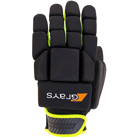Grays Hockey Gloves G600 Proflex Neon_black Back