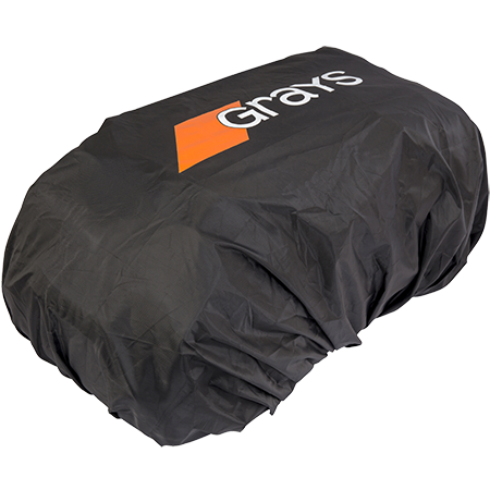Grays Hockey Gr800 Blk_sil_ora Rain Cover