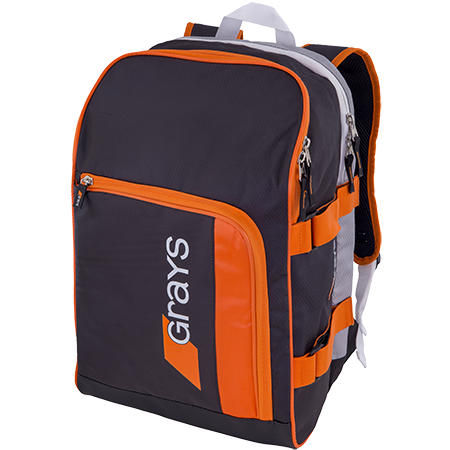 Grays Hockey Gr500 Black_sil_orange Front