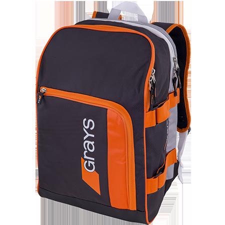 Grays Hockey Gr500 Black_sil_orange Front