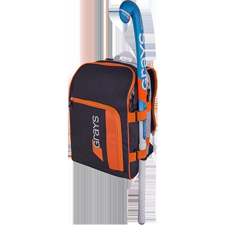Grays Hockey Gr500 Black_sil_orange With Stick