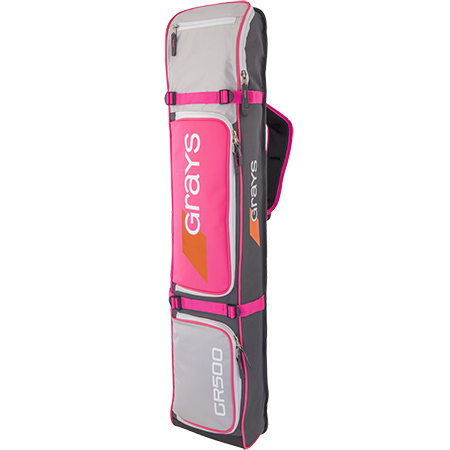 Grays Hockey Gr500 Gry_sil_pink Front
