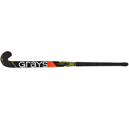 Grays Hockey Composite Sticks Kn11000 Jb Black_fluoro Yellow, Face