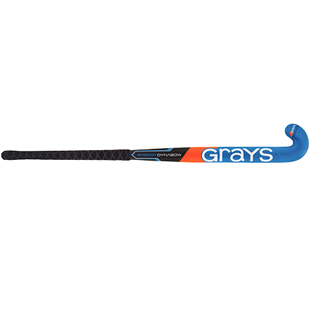 Grays Hockey Composite Sticks Kn10000 Db Mc Black_blue, Front