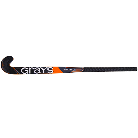 Grays Hockey Composite Sticks Kn8000 Px Mc Black_orange, Face