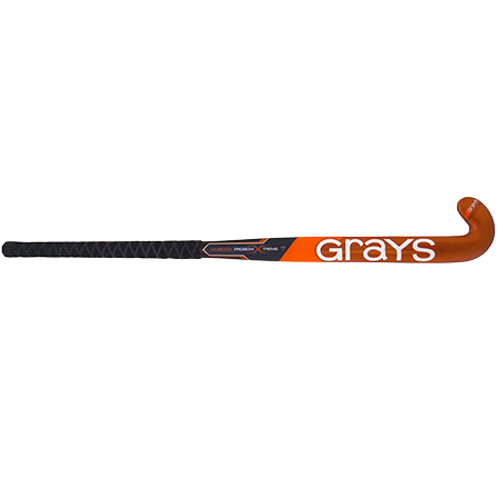 Grays Hockey Composite Sticks Kn8000 Px Mc Black_orange, Front
