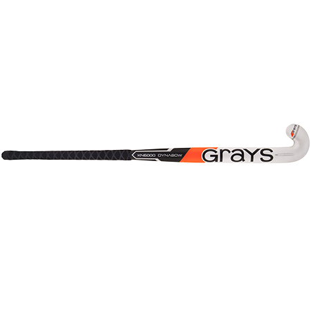 Grays Hockey Composite Sticks Kn6000 Db Mc Black_white, Front
