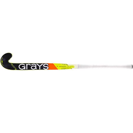 Grays Hockey Composite Sticks Gr11000 Px Mc Fluoro Yellow_grey, Face