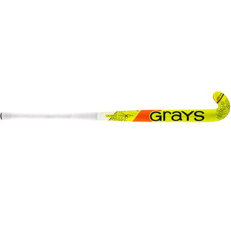 Grays Hockey Composite Sticks Gr11000 Px Mc Fluoro Yellow_grey, Front