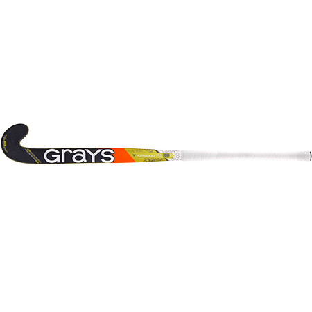 Grays Hockey Composite Sticks Gr8000 Px Mx Yellow_navy, Face