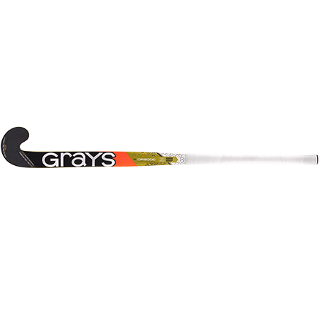 Grays Hockey Composite Sticks Gr8000 Db Mc Yellow_navy, Face