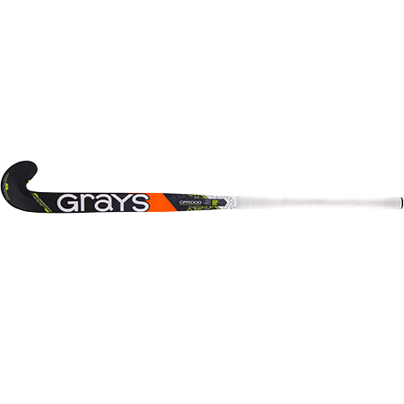Grays Hockey Composite Sticks Gr5000 Px Mc Black_fluoro Yellow, Face