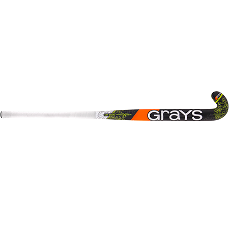 Grays Hockey Composite Sticks Gr5000 Px Mc Black_fluoro Yellow, Front