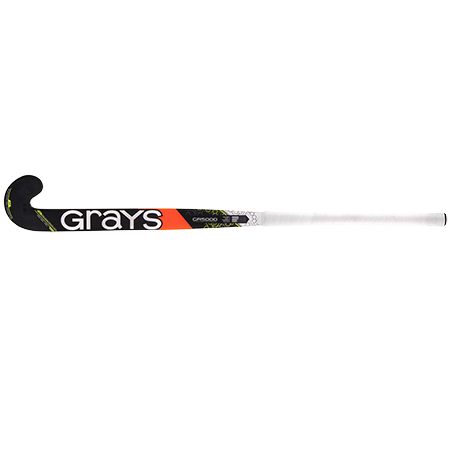 Grays Hockey Composite Sticks Gr5000 Jb Mx Black_fluoro Yellow, Face