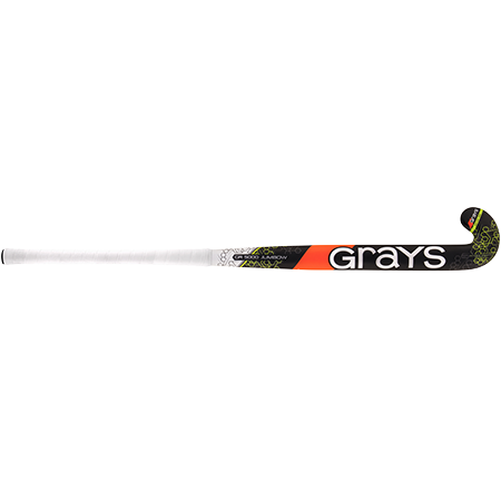 Grays Hockey Composite Sticks Gr5000 Jb Mx Black_fluoro Yellow, Front