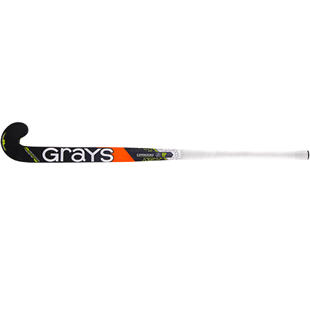 Grays Hockey Composite Sticks Gr5000 Mb Mc Black_fluoro Yellow, Face