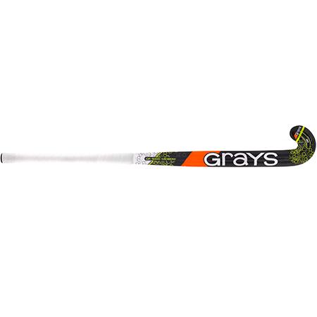 Grays Hockey Composite Sticks Gr5000 Mb Mc Black_fluoro Yellow, Front