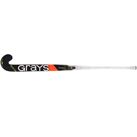 Grays Hockey Composite Sticks Gr5000 Ub Mc Black_fluoro Yellow, Face