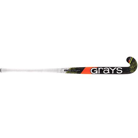 Grays Hockey Composite Sticks Gr5000 Ub Mc Black_fluoro Yellow, Front