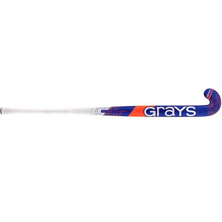 Grays Hockey Composite Sticks Gr4000 Db Mc Royal_fluoro Red, Front