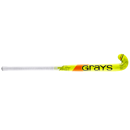 Grays Hockey Composite Sticks Probow Micro Flouro Yellow Grey Front