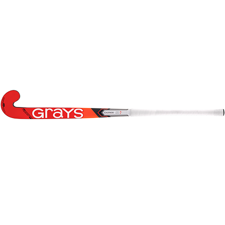 Grays Hockey Composite Sticks Gx2500 Db Mc Grey_fluoro Red, Face