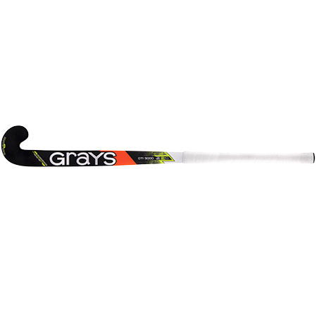 Grays Hockey Composite Sticks Gti5000 Db Black_fluoro Yellow, Face
