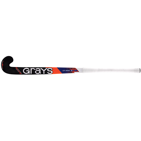 Grays Hockey Composite Sticks Gti4000 Db Royal_fluoro Red, Face