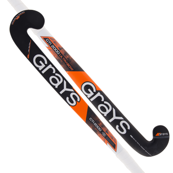 Grays Hockey Composite Sticks Ultrabow Grey-Orange