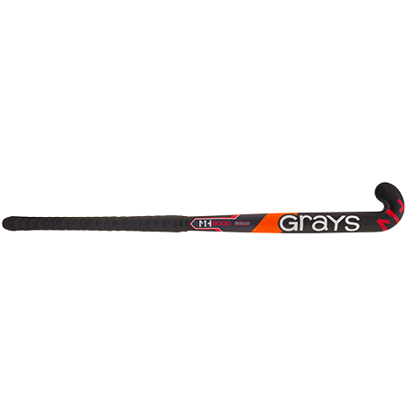 Grays Hockey Mh1 Ub Gk8000 Black Front