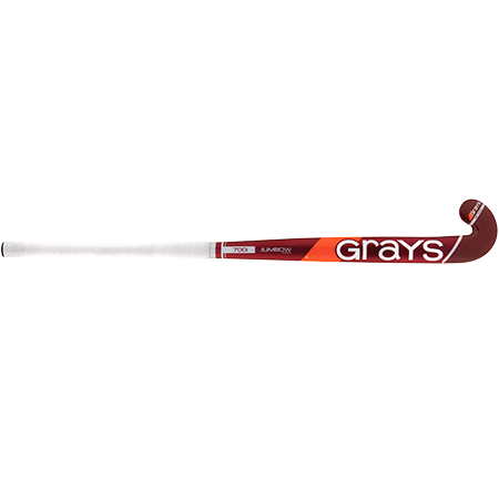 Grays Hockey Wooden Sticks 700i Ind Jb Mc Red_silver, Front