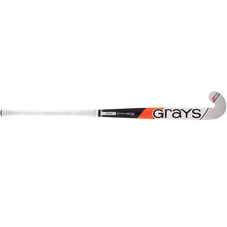 Grays Hockey Wooden Sticks 600i Ind Db Mc Black_white, Front