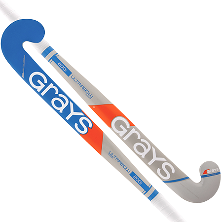 Grays Hockey Wooden Sticks 200i Ind Ub Mc Grey_sky Blue Main