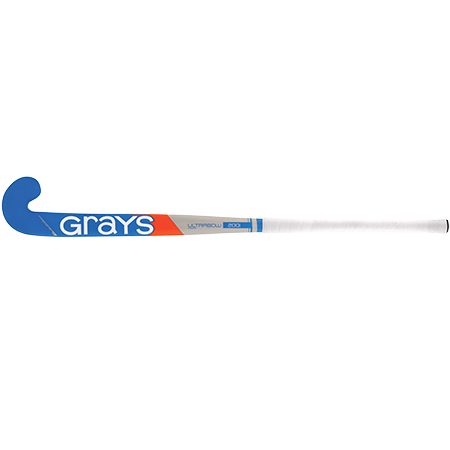 Grays Hockey Wooden Sticks 200i Ind Ub Mc Grey_sky Blue, Face