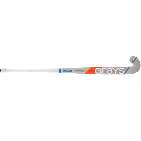 Grays Hockey Wooden Sticks 200i Ind Ub Mc Grey_sky Blue, Front