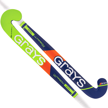 Grays Hockey Wooden Sticks 200i Ind Ub Mc Royal_fluoro Green Main