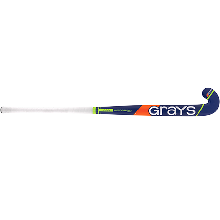 Grays Hockey Wooden Sticks 200i Ind Ub Mc Royal_fluoro Green, Front