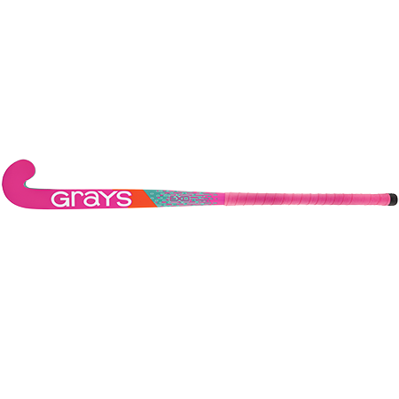 Grays Hockey Wooden Sticks Ind Exo Ub Mc Pink_teal, Face