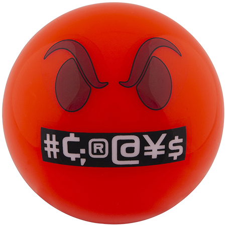 Grays Hockey Balls Emoji Annoyed Main