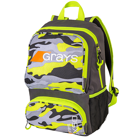 Grays Hockey Gx50 Camo Yellow Front