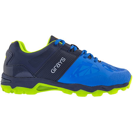 Grays Hockey Shoes Traction 7000 Electric Blue, Outstep