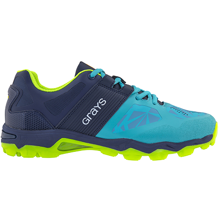 Grays Hockey Shoes Traction Teal_navy, Outstep