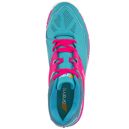 Grays Hockey Shoes Flash 4000 Aqua_pink Ladies Top
