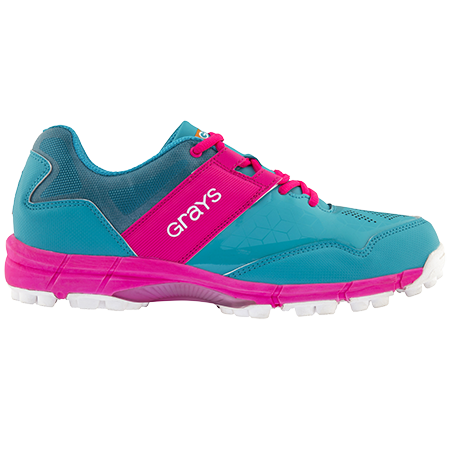 Grays Hockey Shoes Flash 4000 Aqua_pink Ladies, Outstep