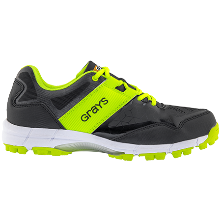 Grays Hockey Shoes Flash 4000 Black_neon Yellow, Outstep